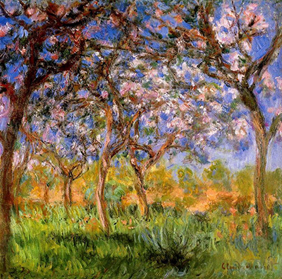 Giverny in Springtime Claude Monet