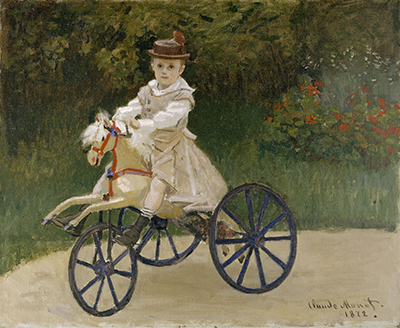 Jean Monet on his Hobby Horse Claude Monet