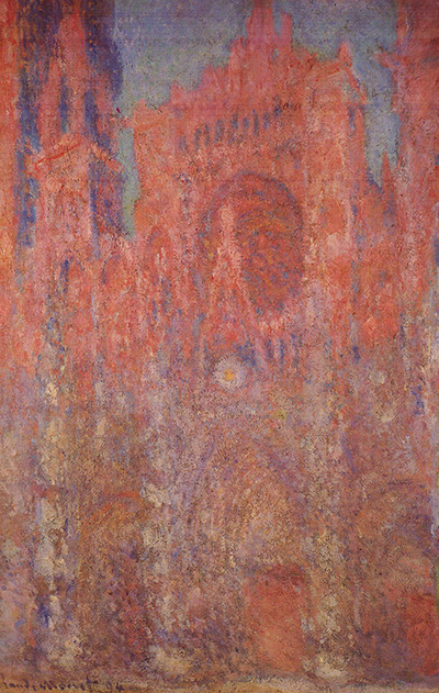 Rouen Cathedral (Red) 1892-1894 Claude Monet