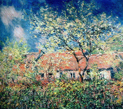 Springtime at Giverny Claude Monet