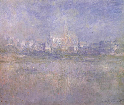 Vétheuil in the Fog Claude Monet