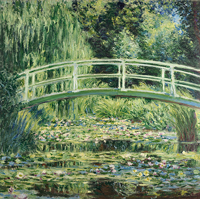 White Water Lilies Claude Monet